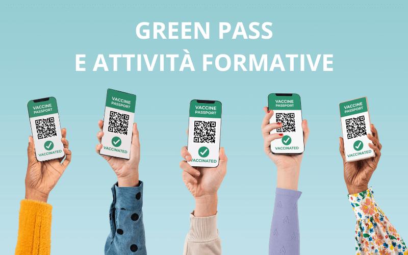 Obbligo di green pass per le attività formative