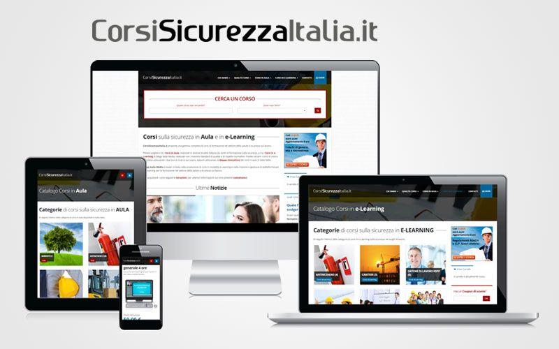 Più facile, più completo, più bello: è il nuovo sito di CorsiSicurezzaItalia